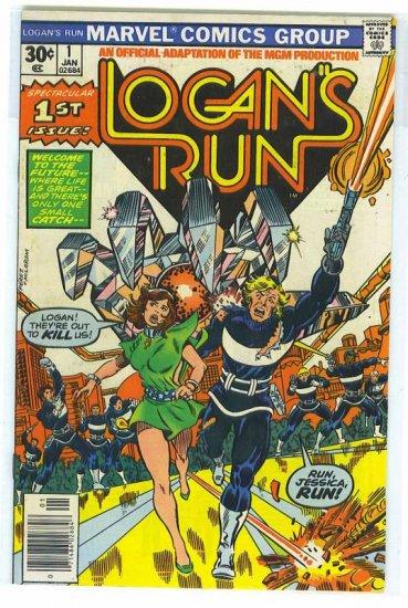Logan's Run # 1, 5.0 VG/FN