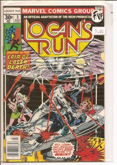 Logan's Run # 3, 7.0 FN/VF