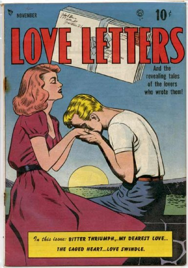 Love Letters # 1, 4.0 VG