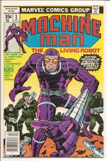 Machine Man # 1, 9.2 NM -