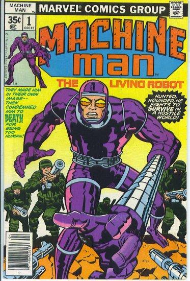 Machine Man # 1, 6.5 FN +