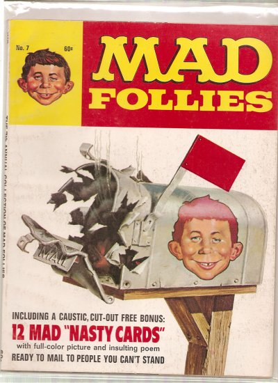 Mad Follies # 7, 4.5 VG +