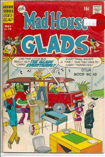 Madhouse Glads # 73, 4.5 VG +