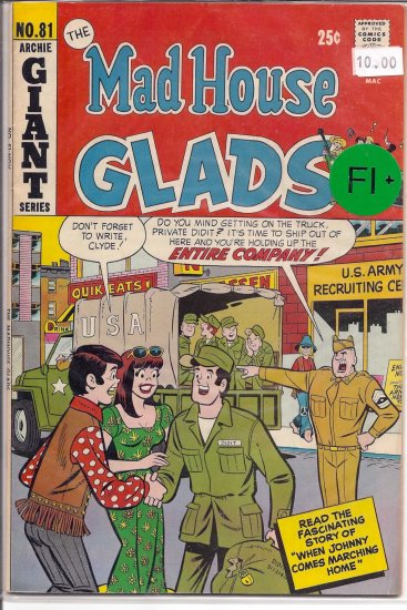 Madhouse Glads # 81, 6.5 FN +