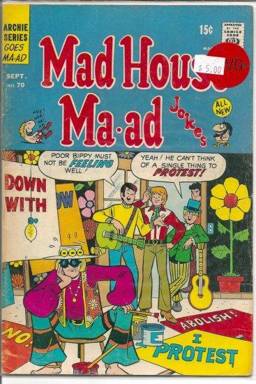 Madhouse Ma-ad # 70, 4.5 VG +
