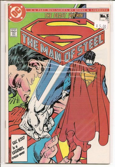 Man of Steel # 5, 9.0 VF/NM