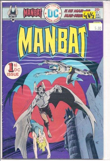 Man-Bat # 1, 3.0 GD/VG