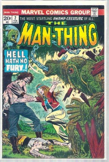 MAN-THING # 2, 3.0 GD/VG