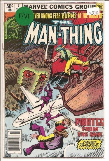 Man-Thing # 7, 7.0 FN/VF