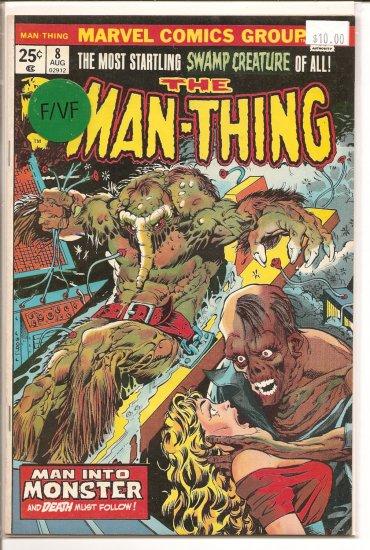 Man-Thing # 8, 7.0 FN/VF