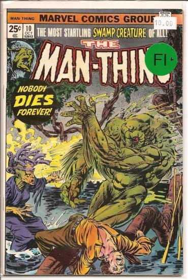 Man-Thing # 10, 6.5 FN +