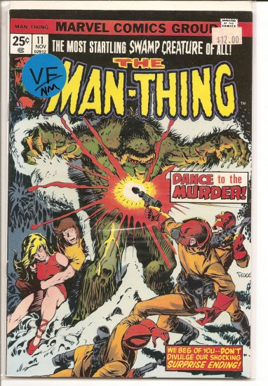 Man-Thing # 11, 9.0 VF/NM