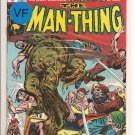 Man-Thing # 14, 8.0 VF