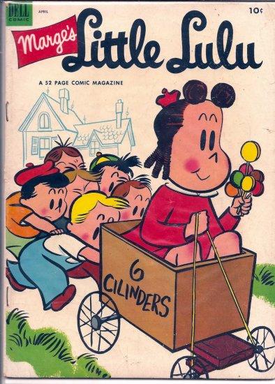 MARGE'S LITTLE LULU # 58, 4.0 VG