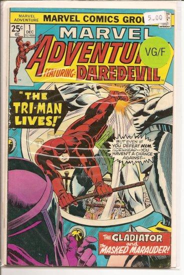 Marvel Adventures Starring Daredevil # 1, 5.0 VG/FN