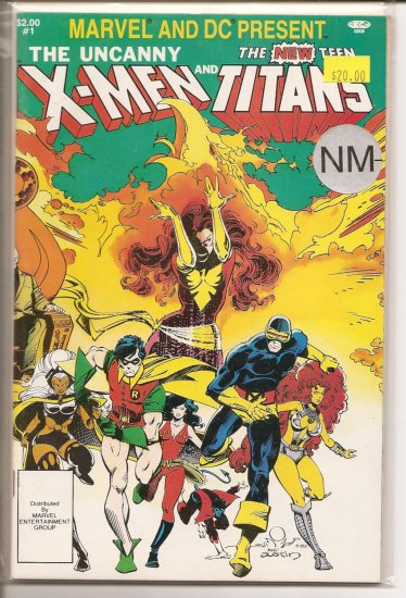 Marvel and DC Present The X-Men and the New Teen Titans # 1, 9.2 NM -