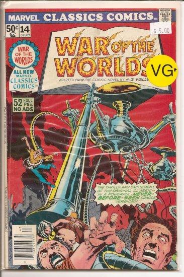 Marvel Classics Comics Series Featuring # 14, 4.5 VG +