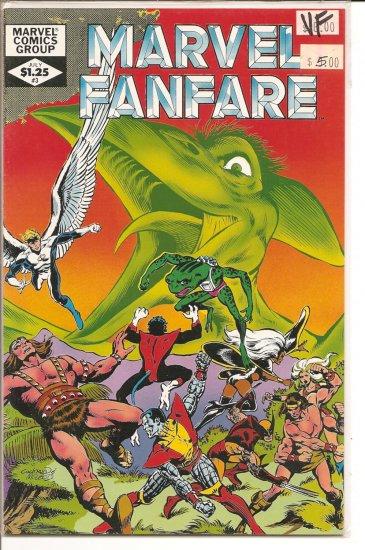Marvel Fanfare # 3, 8.0 VF