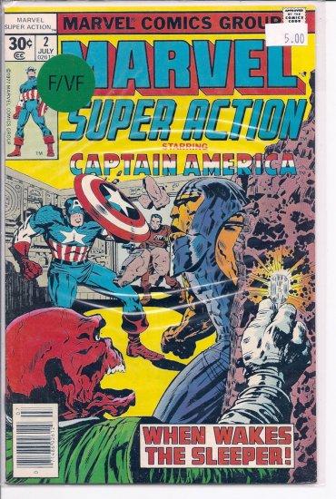 Marvel Super Action # 2, 7.0 FN/VF