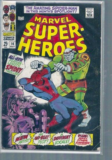 MARVEL SUPER-HEROES # 14, 3.0 GD/VG