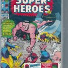 MARVEL SUPER-HEROES # 25, 4.5 VG +