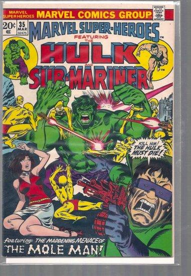 MARVEL SUPER-HEROES # 35, 7.5 VF -