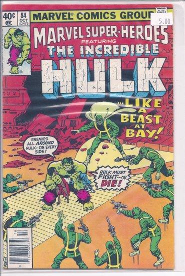 Marvel Super-Heroes # 84, 9.0 VF/NM