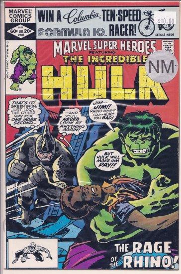 Marvel Super-Heroes # 105, 9.2 NM -