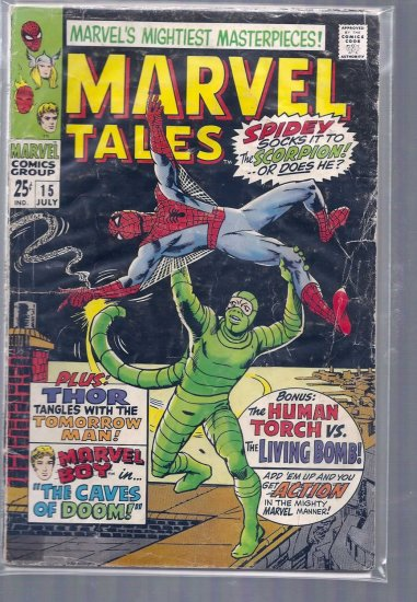 MARVEL TALES # 15, 1.8 GD -