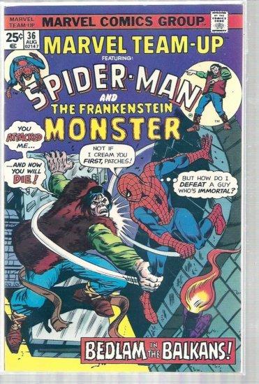 Marvel Team-Up # 36, 5.5 FN -