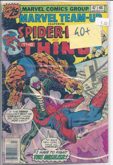 Marvel Team-Up # 47, 2.5 GD +