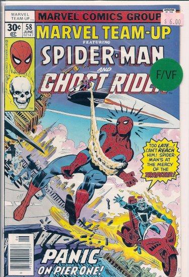 Marvel Team-Up # 58, 7.0 FN/VF