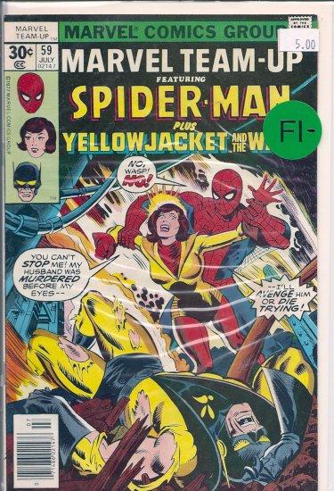 Marvel Team-Up # 59, 5.5 FN -