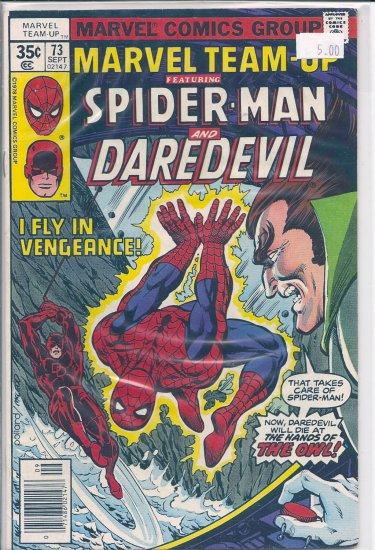 Marvel Team-Up # 73, 8.0 VF