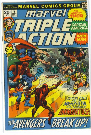 Marvel Triple Action # 5, 4.5 VG +