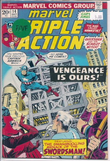 Marvel Triple Action # 14, 7.0 FN/VF