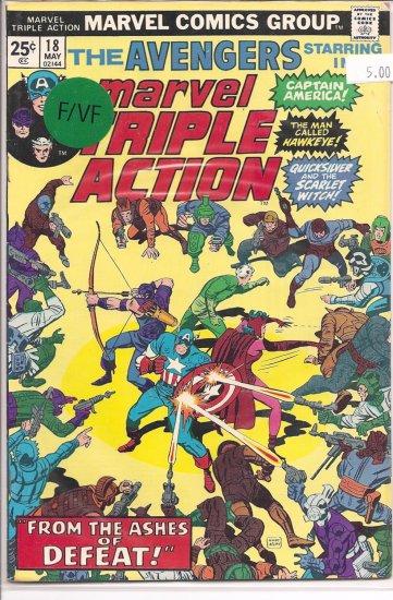 Marvel Triple Action # 18, 6.0 FN