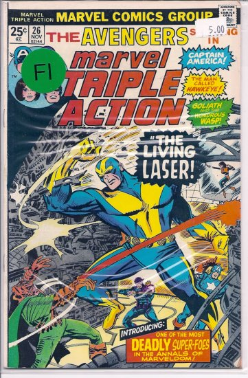 Marvel Triple Action # 26, 6.0 FN