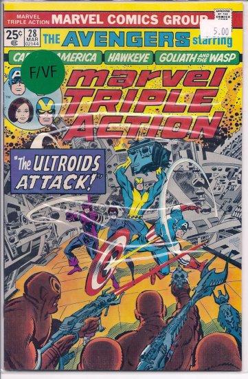 Marvel Triple Action # 28, 7.0 FN/VF