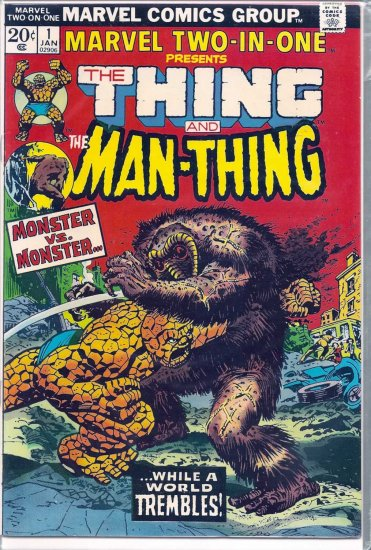 MARVEL TWO-IN-ONE # 1, 4.5 VG +