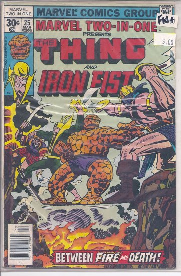 Marvel Two-In-One # 25, 6.5 FN +