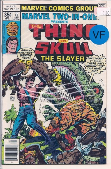 Marvel Two-In-One # 35, 8.0 VF
