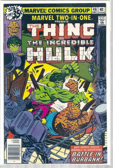MARVEL TWO-IN-ONE # 46, 4.5 VG +