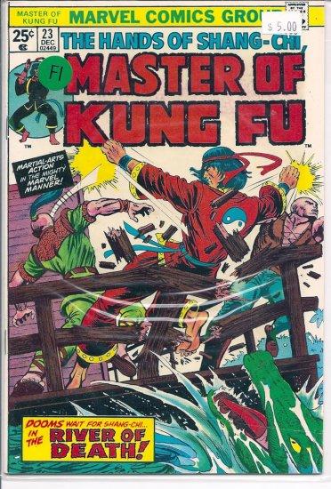 Master of Kung Fu # 23, 6.0 FN