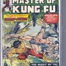 MASTER OF KUNG FU # 24, 3.5 VG -