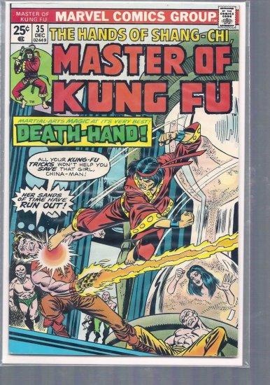 MASTER OF KUNG FU # 35, 5.0 VG/FN