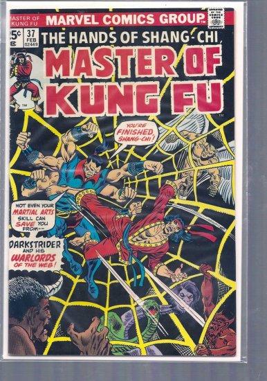 MASTER OF KUNG FU # 37, 5.5 FN -