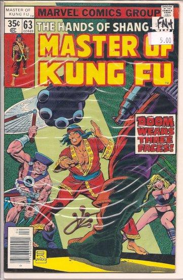 Master of Kung Fu # 63, 6.5 FN +