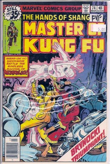 Master of Kung Fu # 74, 7.0 FN/VF