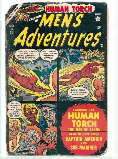 MEN'S ADVENTURES # 28, 0.5 PR